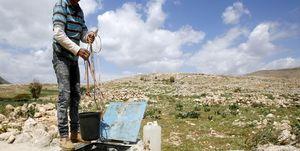 آبدزدی رژیم صهیونیستی در کرانه باختری و خشک شدن مزارع
