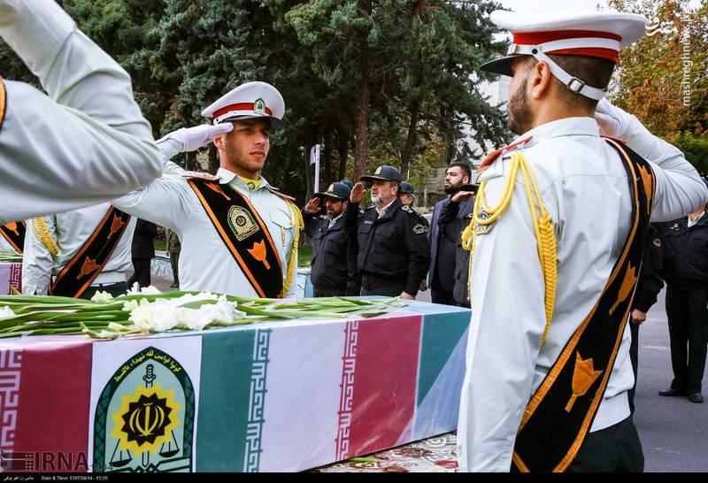 2378617 - تدفین سه شهید گمنام دوران دفاع مقدس