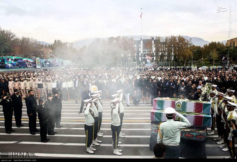2378618 - تدفین سه شهید گمنام دوران دفاع مقدس