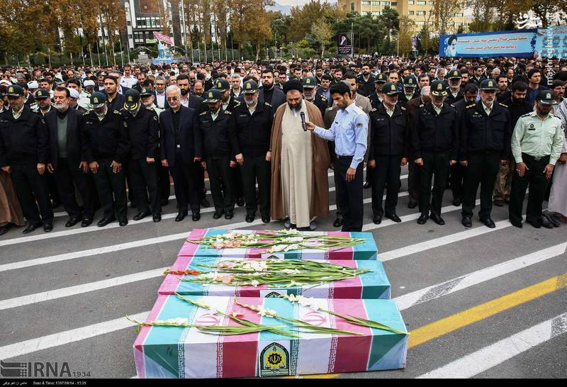 2378624 - تدفین سه شهید گمنام دوران دفاع مقدس