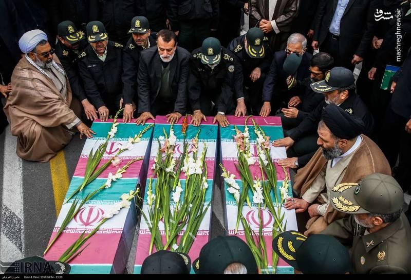 2378628 - تدفین سه شهید گمنام دوران دفاع مقدس