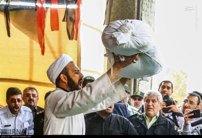 2378630 - تدفین سه شهید گمنام دوران دفاع مقدس