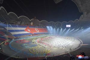 عکس/ استقبال باشکوه رهبر کرهشمالی از رئیسجمهور کوبا