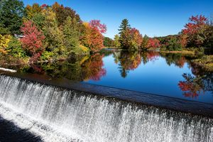 عکس/  زیباییهای فصل هزار رنگ پاییز