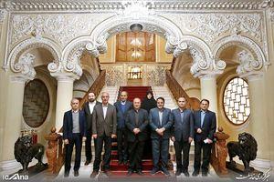 عکس/ دیدار تاج با رئیس مجلس