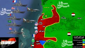 زنگ خطر برای نیروهای یمنی به صدا درآمد/ نیروهای شورشی به ورودیهای الحدیده رسیدند + نقشه میدانی و عکس