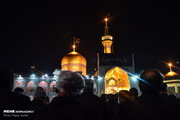عکس/ حرم رضوی در شب شهادت امام رضا(ع)