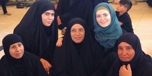 زیباییهای اربعین و عراق از لنز عکاس انگلیسی +عکس
