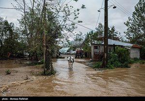 وقوع سیل و آبگرفتگی در ۱۰ استان کشور