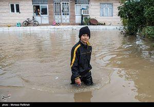 عکس/ خسارات سیل و رانش زمین در گیلان