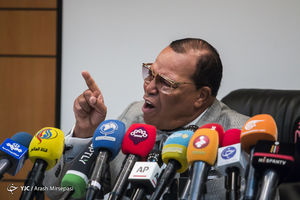 نشست خبری رهبر مسلمانان آمریکا در شبکه پرس تیوی