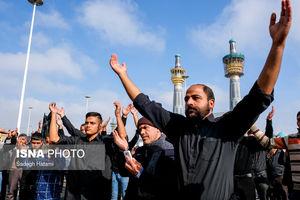 عکس/ عزاداری شهادت امام رضا(ع) در مشهد