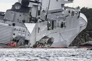 عکس/ غرق ناو 5 هزار میلیارد تومانی نروژ