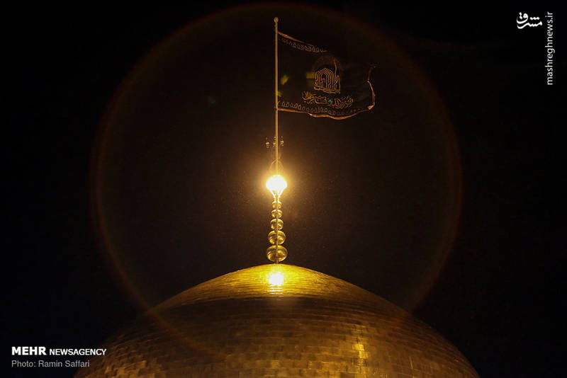 2380324 - حرم رضوی در شب شهادت امام رضا(ع)