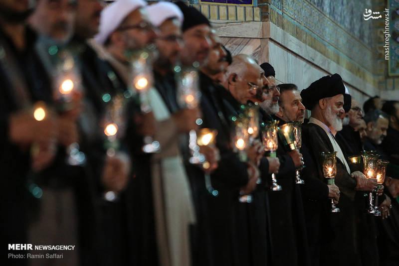 2380327 - حرم رضوی در شب شهادت امام رضا(ع)