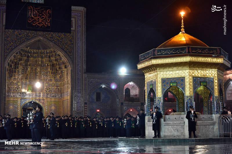 2380342 - حرم رضوی در شب شهادت امام رضا(ع)