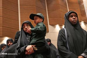 عکس/ بزرگداشت مجاهدین در غربت