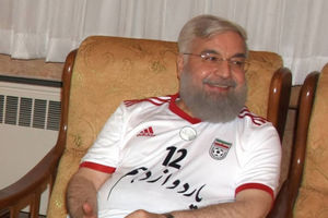 روحانی فوتبال