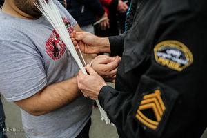 دستگیری اراذل و اوباش با تیراندازی پلیس