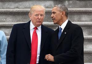 ترامپ: هرگز اوباما را نمیبخشم