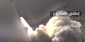 شلیک موشک زلزال به مواضع سعودیها