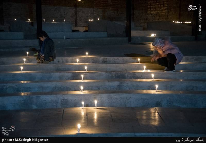 """عکس/ برگزاری مراسم""""نذر شمع"""""""