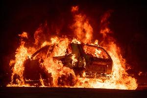 عکس/ پیشروی مرگبار آتش سوزی در کالیفرنیا