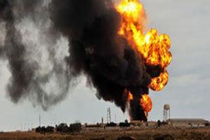 فیلم/ لحظه انفجار در انبار مهمات ارتش ترکیه!