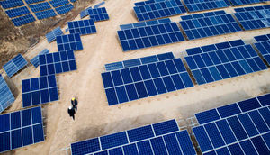 احداث نیروگاه خورشیدی با هدف فقرزدایی