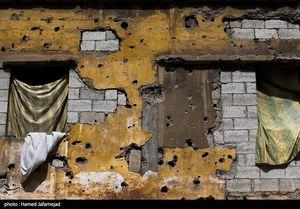 عکس/ شهر حُمص پس از آزادی