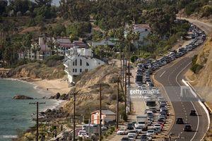 عکس/ فرار از کالیفرنیا