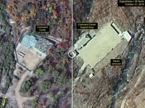 عکس/ تغییرات در یک سایت هستهای کره شمالی
