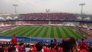 عکس/ حال و هوای ورزشگاه آزادی قبل از بازی فینال