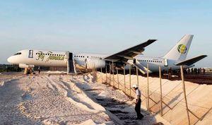 عکس/ سانحه هوایی برای هواپیمای بوئینگ