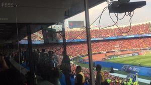 2 پرسپولیسی محبوب در ورزشگاه آزادی +عکس