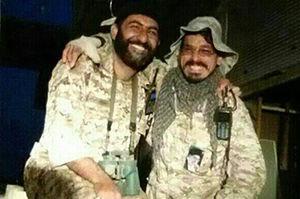 فیلم/ شوخی شهید مدافع حرم در وسط میدان نبرد