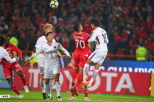 نیمه اول بازی پرسپولیس کاشیما