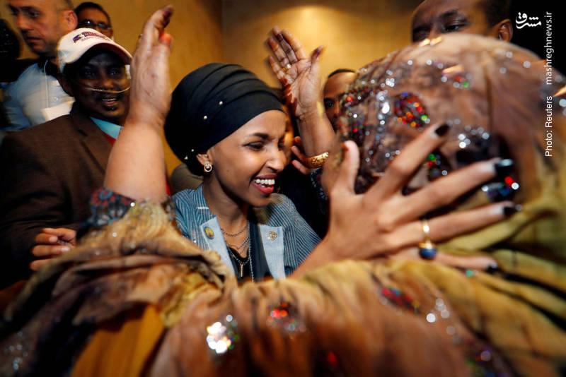 پیروزی دو زن مسلمان از جمله ایلهان عمر در انتخابات کنگره آمریکا