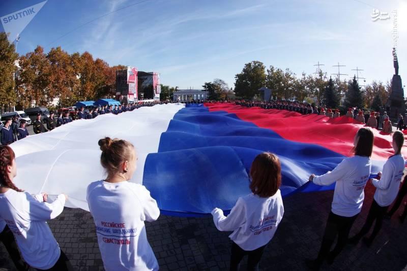 تظاهرات «پرچم کشور من» در سواستوپل