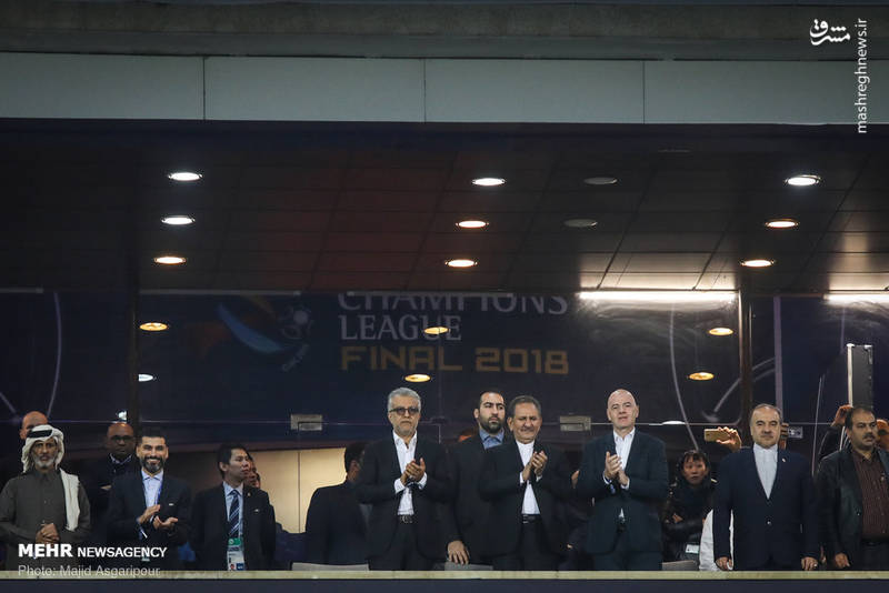 جشن قهرمانی و اهدای مدال فینال لیگ قهرمانان آسیا