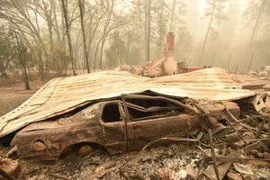 "فیلم/ وضعیت عجیب""مناطق سوخته""در کالیفرنیا!"