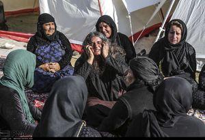 عکس/ اولین سالروز زلزله ۷/۳ ریشتری کرمانشاه