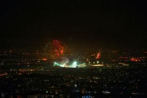 عکس/نمایی متفاوت از فینال لیگ قهرمانان در ورزشگاه آزادی