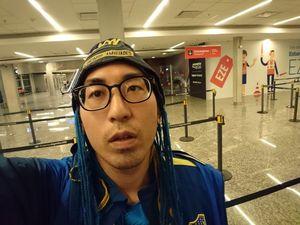 پرواز ۳۳ ساعته و بینتیجه یک ژاپنی برای تماشای فینال!