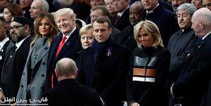 پوتین و ترامپ در پاریس دیدار و رایزنی کردند