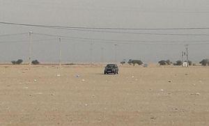 عکس/ تنها خودرو جامانده از اربعین در پارکینگ مهران