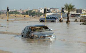 عکس/ سیل در کویت
