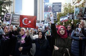 عکس/ تظاهرات ضد سعودی در ترکیه