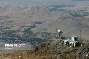 عکس/ پروژه ساخت رصدخانه ملی