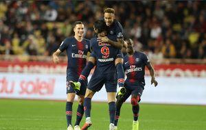 شکست سنگین موناکو مقابل پاریسن ژرمن
